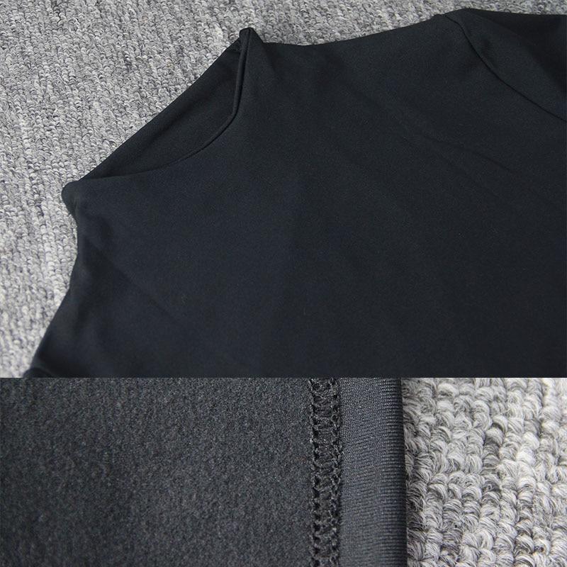 Crop Top Black T Shirts Sexy Basic Short TShirts Femme Club White Women Shirts Harajuku 2019 Spring Winter Long Sleeve Crop Tops in T Shirts from Women 39 s Clothing
