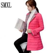 smxl Brand Parkas Padded slim Long Winter Warm Coats Women Ultra Light 90% White Duck Down Female Women Jackets High Quality