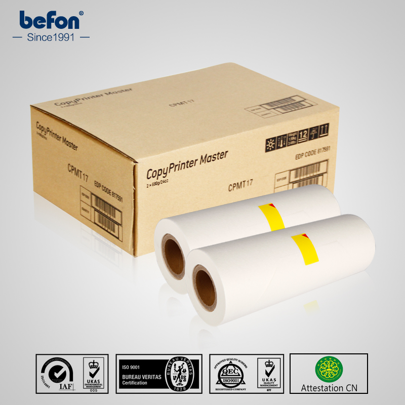 befon Master Roll CPMT17 B4 Compatible with Gestetner JP1250 1255