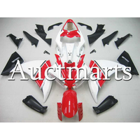 Injection Gloss White Red ABS Plastic Fairing For Yamaha R1 2012 2013 2014 Year YZF1000 12 13 14 Motorcycle Cowlings