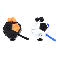 Hot Twelve Faces Fidget Cube Decompression Stress Reliever Vinyl Dice Toys Magic Cube Toys Anti Stress