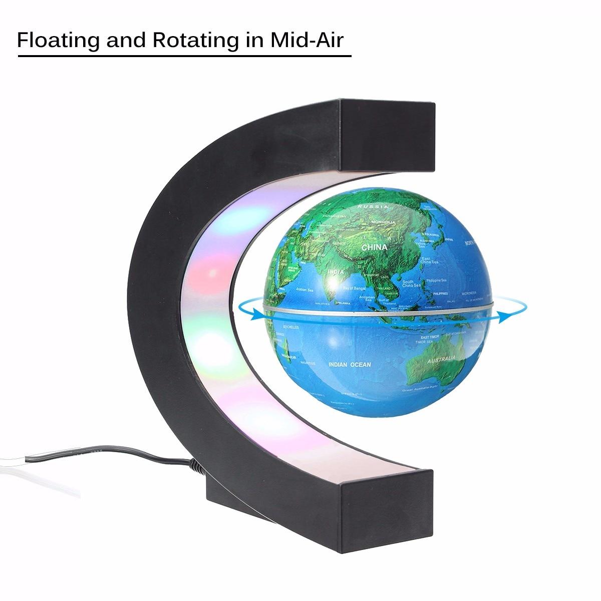 Светодиодный светильник C Форма мир земля глобус Карта география обучающая игрушка Дети Обучающие география школа домашний офис Декор