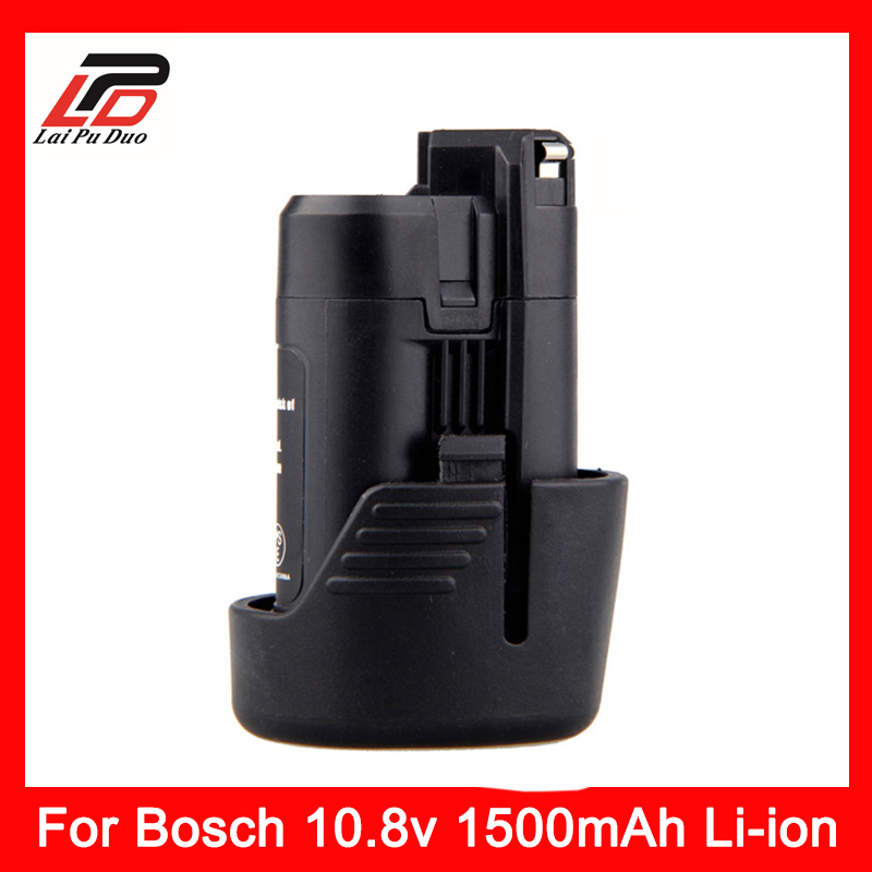 10.8V 1.5Ah Replacement Li-ion battery For Bosch 1500mah 2 607 336 013 2 607 336 014 BAT411 D-70745 GOP 10.8V PS20-2 PS40-2