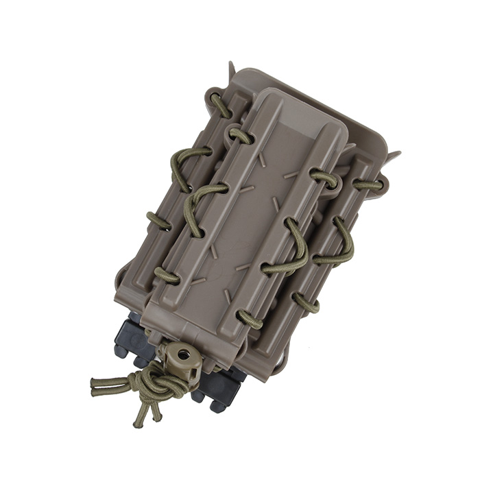 Tacitcal Molle Polymer Mag Pouch Set Magazine Carrier Double Decker Coyote Brown Wolf Grey BK CB WG(XTC051117)