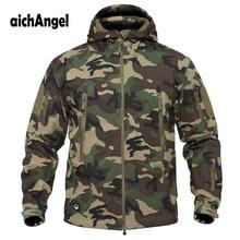 Chaqueta táctica militar V5.0 para hombre, chaqueta de piel de tiburón, suave, impermeable, chaqueta rompevientos para hombre