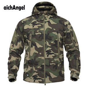 Image 1 - Veste tactique militaire pour hommes, V5.0, veste de marque Lurker peau de requin, manteau coupe vent étanche, de marque, livraison directe