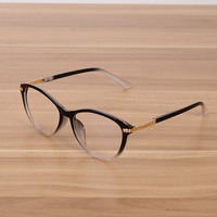 4bbd80fa29 ... gafas marco mujer ojo de gato transparente moda Mujer Flor puntos para  prescripción. Vazrobe Black Clear Glasses Frame Women Cat Eye Transparent  Fashion ...