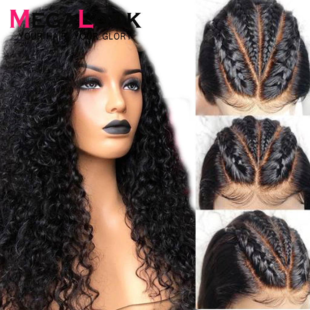 Lace Frontal Human Hair Wigs Curly Human Hair Wigs 13x6 Lace Front 28 Inch Preplucked Lace Wigs Malaysia For Black Women Remy