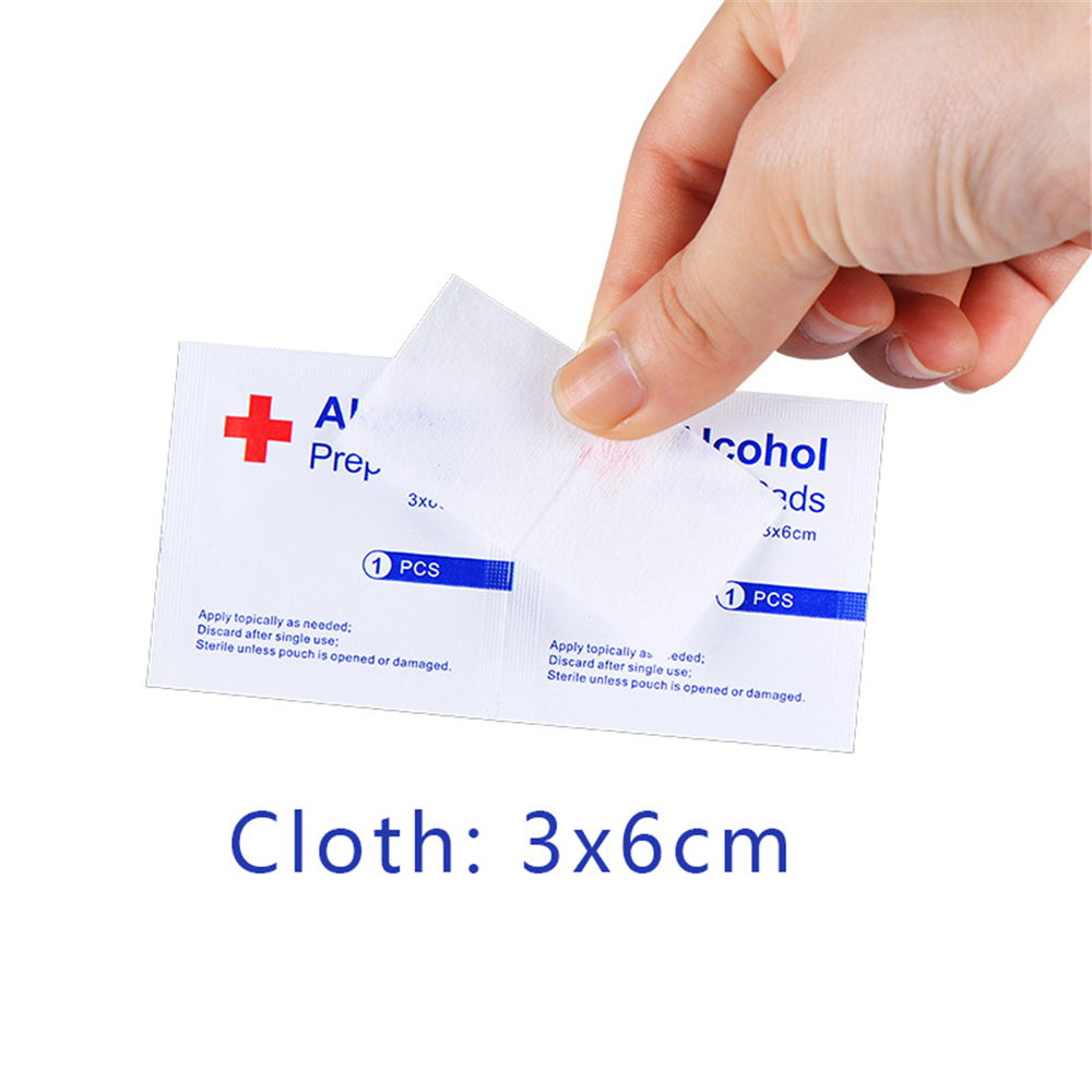 100pcs Alcohol Wipes With Premium Pad Material For Antiseptic Skin And Mobile Phone Cleaning 14