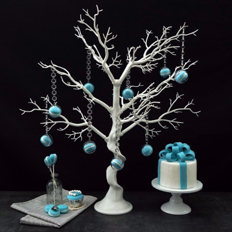 SWEETGO Macrons Artificial trees Wedding decoration tree for dessert table candy bar shop window Wishing Tree
