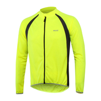 Breathable MTB Bike Cycling Jersey Long Sleeve Sports Clothing Men Full Zipper Cycle Bicycle Clothes 4