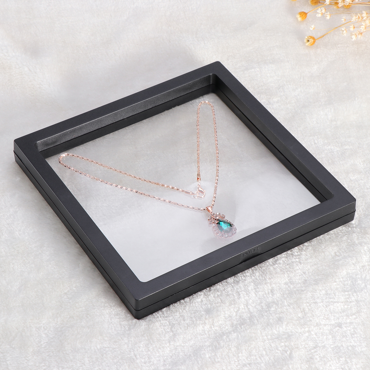 3D Floating Frame Shadow Box Display Case Coin Box Jewelry Display