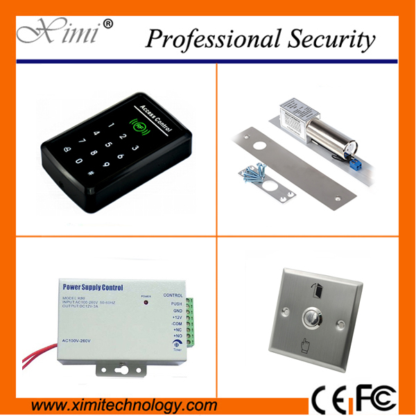 F008 smart single door acess control weigand input without software touch keypad 125KHZ RFID card access control reader good quality smart rfid card door access control reader touch waterproof keypad 125khz id card single door access controller