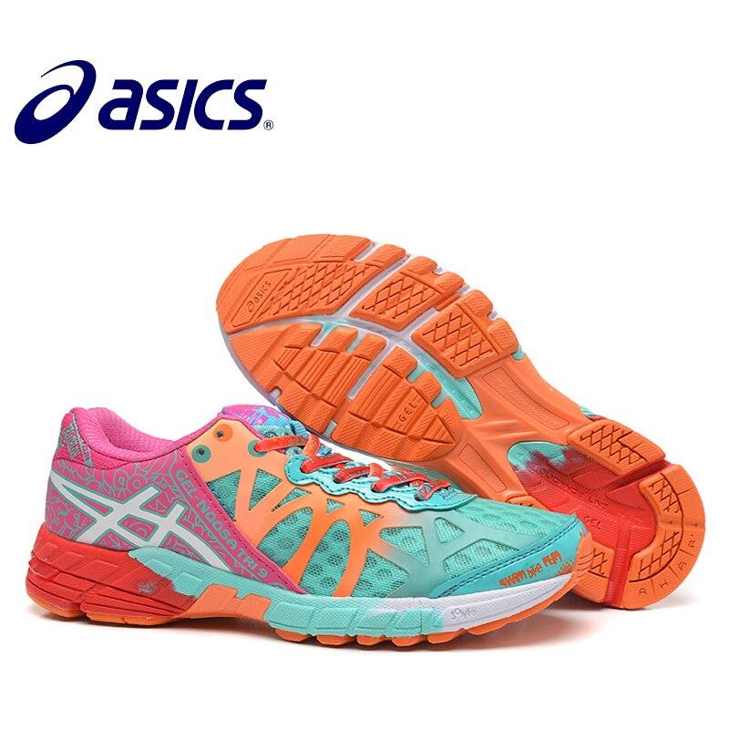 Chaussures femme Asics gel-noosa TRI9 originales chaussures de course stables respirantes chaussures de Tennis d'extérieur Hongniu 2018