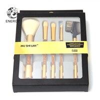 ENERGIE Merk 5 stks Professionele Up Kwasten Make Up Brush Set met Doos Pincel Maquiagem Brochas Maquillaje Pinceaux