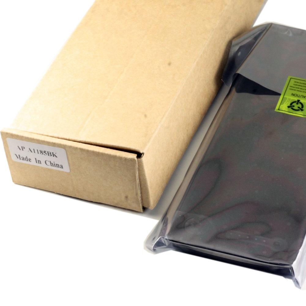 100% batterie d'origine authentique A1185 Batteries pour Apple noir MA566 MACBOOK 13 A1181 MA472 MA472B MA701 MB404X FE/A