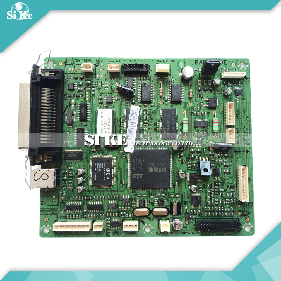 Laser Printer Main Board For Samsung SCX-4521F SCX 4521F SCX-4521F 11 Pin Formatter Board Mainboard Logic Board тонер картридж samsung mlt k606s see для scx 8040nd черный 35000стр