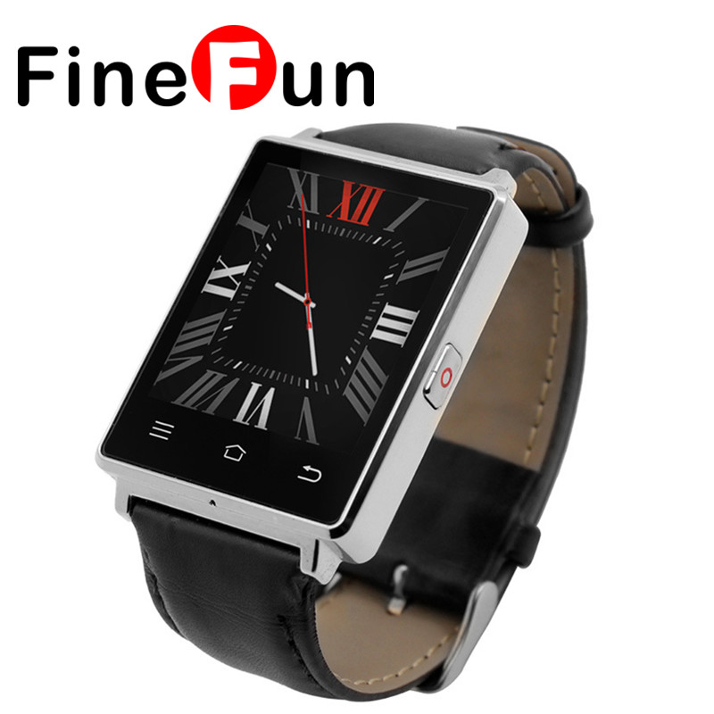 FineFun D6 3G Smart Watch Phone Android 5.1 MTK6580 Quad Core 1.3GHz 1GB RAM 8GB ROM 1.63 inch WiFi Bluetooth 4.0 GPS smartwatch no 1 d6 1 63 inch 3g smartwatch phone android 5 1 mtk6580 quad core 1 3ghz 1gb ram gps wifi bluetooth 4 0 heart rate monitoring