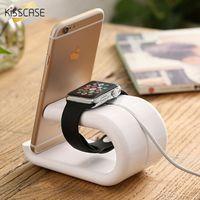 Innovative U Shape Charging Dock For IWatch Smart Watch Baking Finish Desktop Phone Stand Holder Lazy