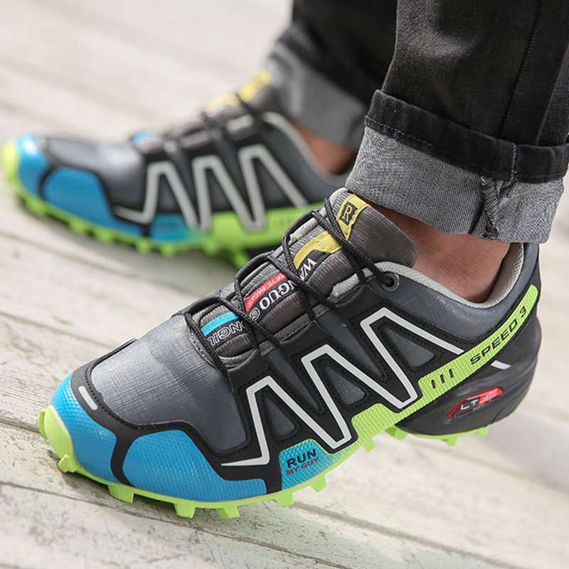SUROM Men Hiking Shoes Men Sneakers Wear-resistant Non-slip Outdoor Sports Shoes Male Walking Breathable Summer Shoes 2019 HotSUROM Men Hiking Shoes Men Sneakers Wear-resistant Non-slip Outdoor Sports Shoes Male Walking Breathable Summer Shoes 2019 Hot