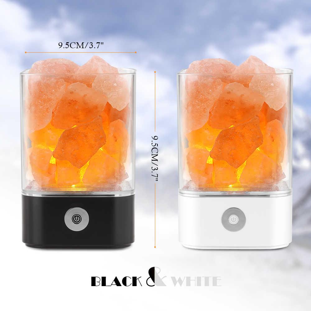 Соляная ионизирующая лампа ночник сенсорный диммер красочный свет ночник очиститель воздуха украшение прикроватная лампа Йога спальня стол прохода