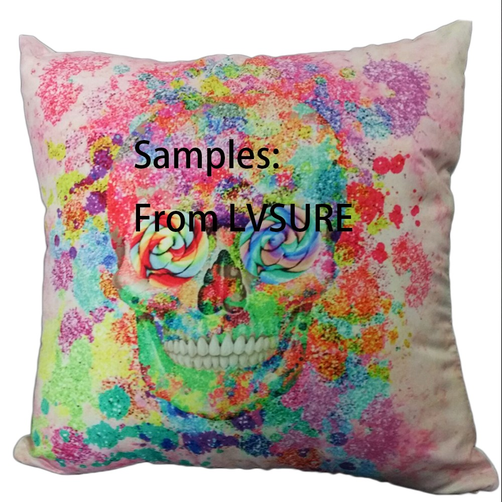 Cute Hanging Halloween Spiders Reversible Wedding Decorative Cushion Cover Pillow Case Customize Gift For Sofa Seat Pillowcase