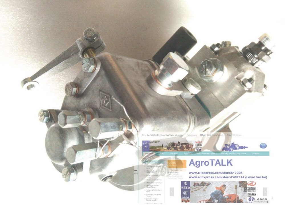 Hubei Shenniu tractor parts, the fuel injection pump of tractor SN250, SN254 with engine HB295T fuel injection pump of jiangdong ty295it ty2100it for tractor like jinma etc the pump brand is weifu