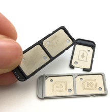 Micro SIM Card Tray Slot Holder Single/Dual SIM Slot For Sony Xperia L1 G3311 G3312 G3313 Replacement Parts New Original
