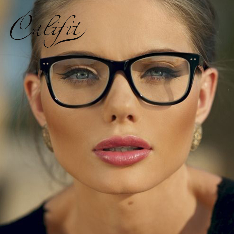 Califit New Women Eyewear Original Brand Square Glasses