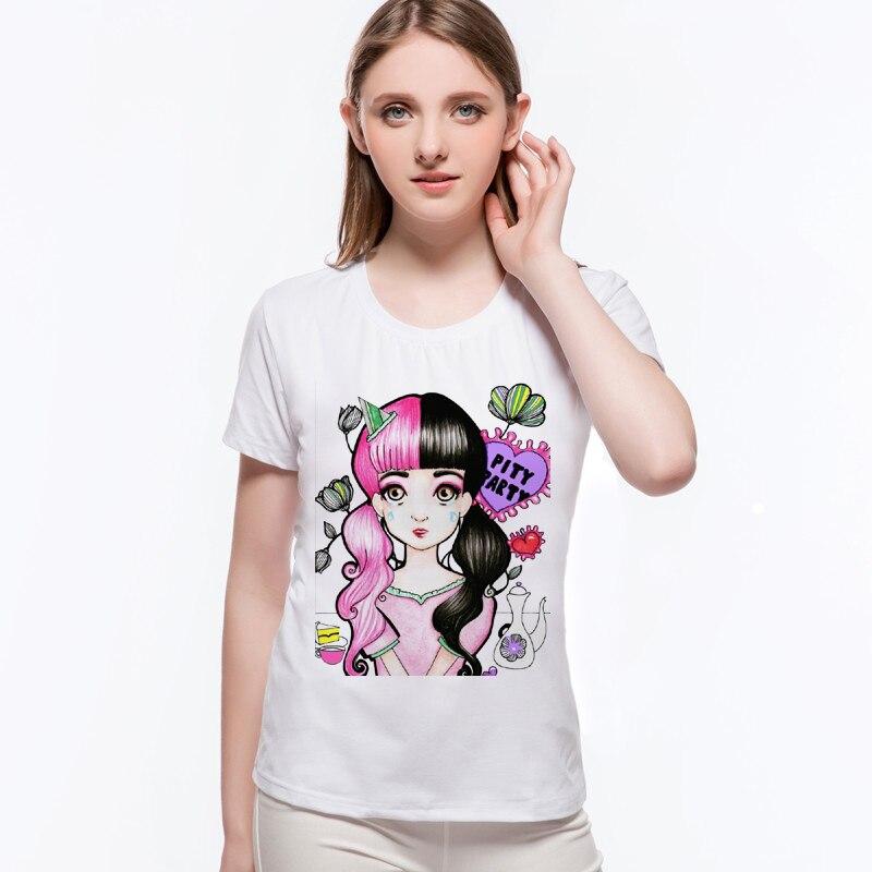 Scared Melanie Martinez Crybaby T shirt Women Summer Cry ...
