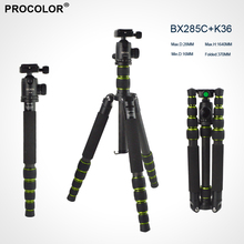 Camera Accessaries Photography Portable carbon Fiber Professional Tripod Monopod with Panoramic Ball Head For DSLR