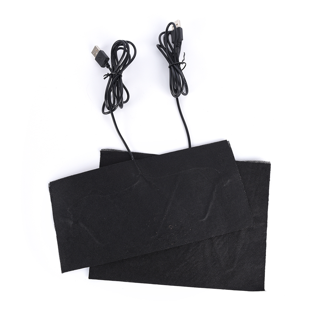 5V Electric Winter Infrared Fever Heat Mat Carbon Fiber Heating Pad Hand Warmer USB Heating Film  2 Sizes
