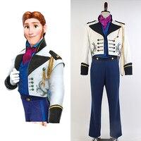 2015 Hot Movie Elsa Hoàng Tử Hans Suit Coat Người Lớn Nam Tuxedo Phong Cách TUX Club Đảng Uniform Cosplay Costume