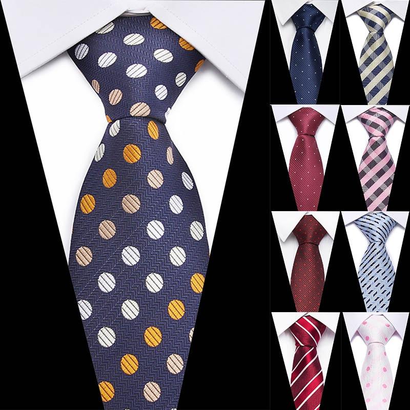 New Plaid Tie For Men Extra Long Size 145cm*7.5cm Necktie Green Paisley Silk Jacquard Woven Neck Tie Suit Wedding Party