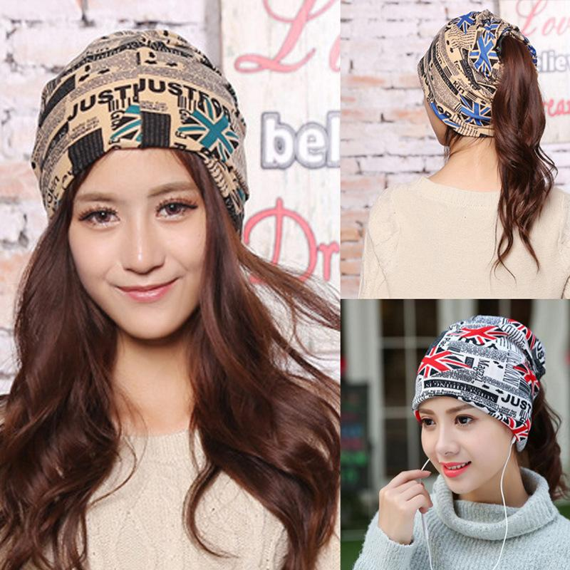 New arrival 2 Use Cap Knitted Scarf  Winter Hats for Women Letter Beanies Women Hip-hot Skullies girls Gorros women Beanies rosicil skullies beanies winter hats for women letter beanies women hip hot caps skullies girls gorros women beanies female