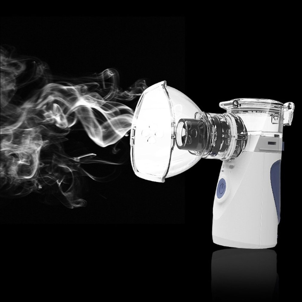 Portable Handheld Nebuliser Health Care Ultrasonic Atomizer Sprayer Respirator Humidifier Adult Inhaler Nebulizer