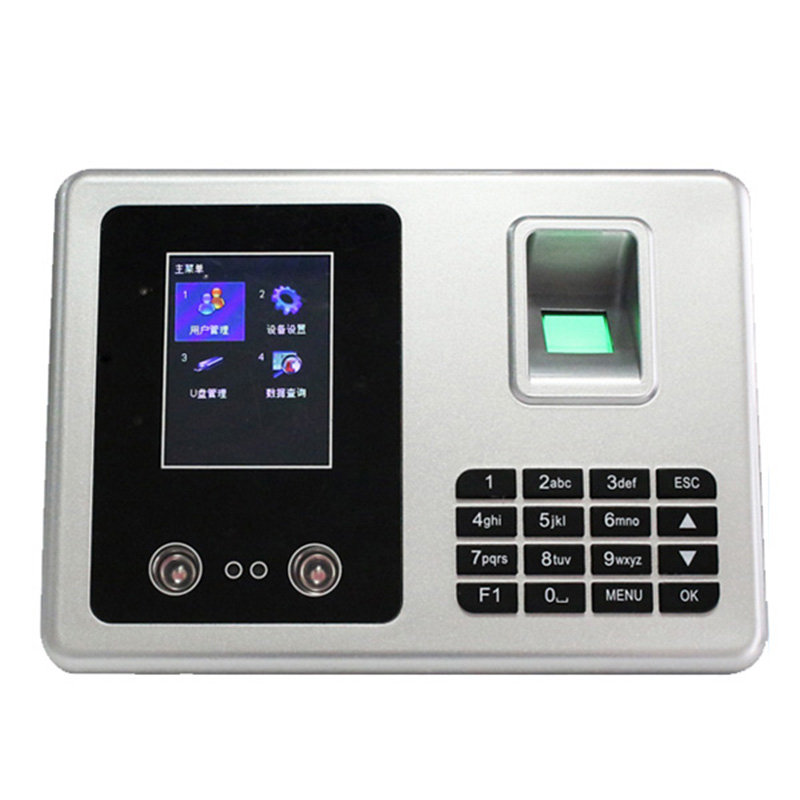 Free Software RFID+Password+Face+Fingerprint Time Clock Biometric Face Recognition Time Attendance  TCP/IP Employee Time Clock