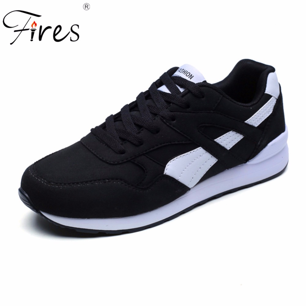Fires Men Brand Sneakers For Male Sports Running Shoes Outdoor Trending Breathable Cushion Walking Shoes Zapatillas de deporte