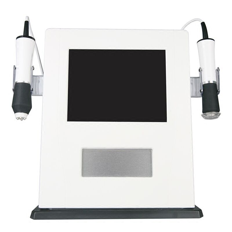 Korea oxygen treatment facial wrinkle machine carbon dioxide bubble deep cleaning RF ultrasonic beauty machine
