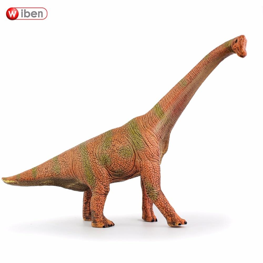 Wiben Jurassic Brachiosaurus Dinosaurus Speelgoed Actiefiguur Diermodel Collectie Hoge simulatie Verjaardagscadeau voor kinderen