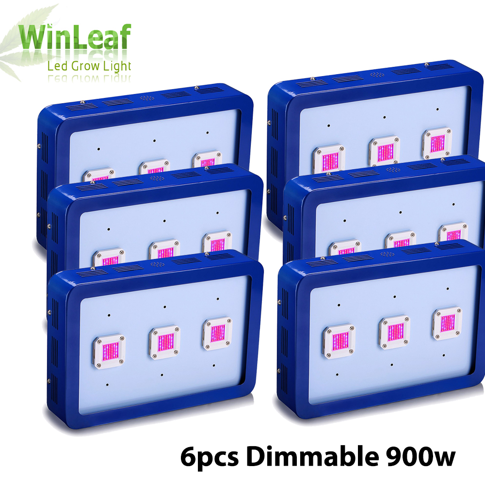 6pcs X3 900W COB LED Grow Light Module Design Full Spectrum for Greenhouse and Indoor Plant Flowering Growing Plants Grow Lamp цена