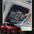 Auto aufkleber edelstahl AUTO Innen Lesen Lampe dekoration trim Für Mazda CX5 CX 5 2017 2018-in Chrom-Styling aus Kraftfahrzeuge und Motorräder bei