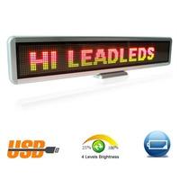 RGY трехцветный LED автомобиля знак программируемый сообщение Войти перемещение перечисляя Дисплей доска Светодиодные ленты Коммерческое ос