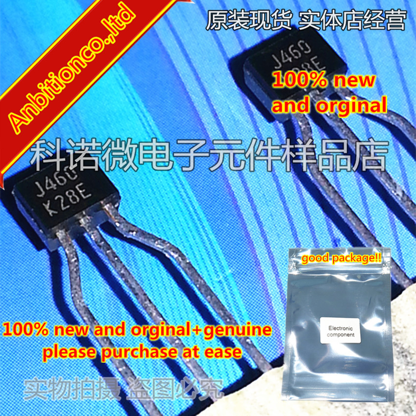 10pcs 100% New And Orginal 2SJ460 J460 TO-92 P-CHANNEL MOS FIELD EFFECT TRANSISTOR FOR HIGH SPEED SWITCHING In Stock