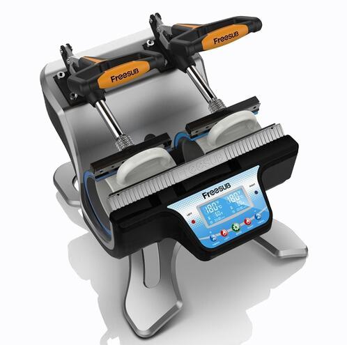 3D mug heat transfer machine ST-210 for Mug printing machine Automatic 3D Sublimation heat press machine for mug Free shipping