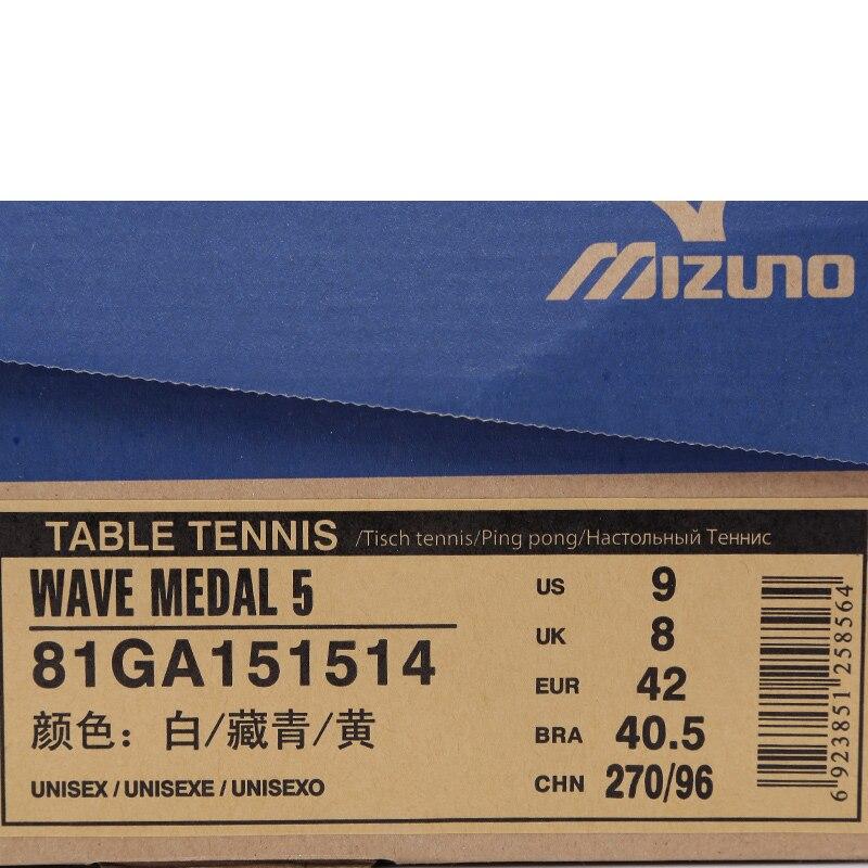 c8b5c9ad7 MIZUNO WAVE Hombres MEDALLA 5 de Tenis de Mesa Zapatos DMX Amortiguación  Transpirable Zapatillas de deporte de Resistencia Al Desgaste de la Aptitud  ...