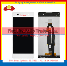 "Hohe qualität 5,2 ""für Sony Xperia E5 F3311 F3313 Voll Lcd Display Touchscreen Digitizer Sensor Montage Complate Schwarz Weiß"