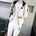 Fashion Tracksuit Men Casual Mens Hoodies And Sweatshirts Mens Track Suit Set Sportswear Man Plus Size 5XL