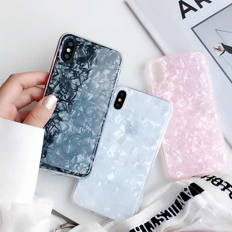 Casal de moda Casos de Telefone de Mármore Para OPPO A37 A57 A59 A77 A79 A83 A3 A5 A7 Suave Silicone Tampas Epóxi para OPPO R7 R9 R11 S Plus
