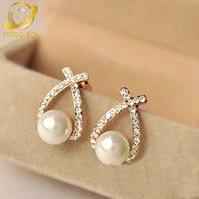 korean cute simulated pearl earrings for women fashion jewelry boucle d'oreille femme oorbellen perlas earing aros studs earring цены